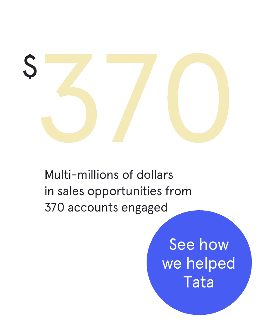 Read our case study on Tata