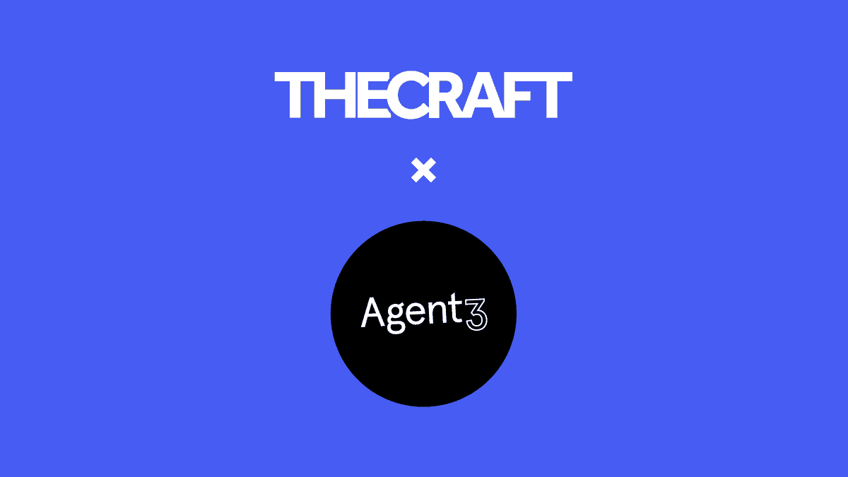 Agent3 and The Craft; combining to deliver best in class Account Based Marketing, end to end