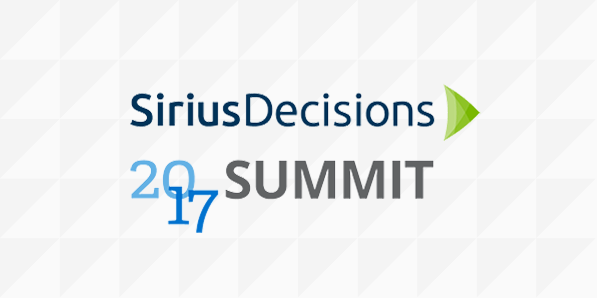 Three key takeaways from SiriusDecision Summit 2017