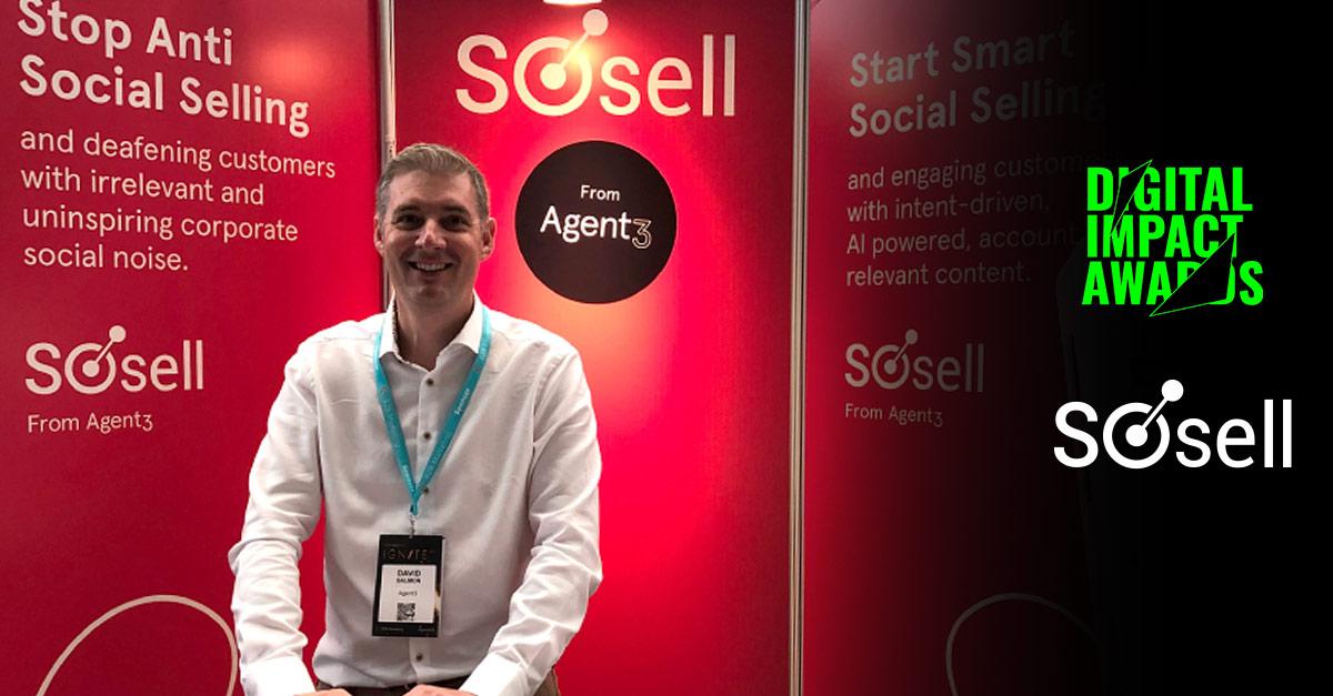 SoSell reaches shortlist at Digital Impact Awards!